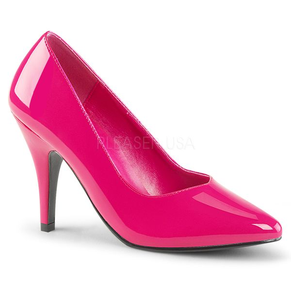 DREAM-420 Klassische Pumps hot pink Lack